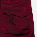 Stone Island Shadow Project Cargo Comfort Cotton Gabardine Maroon photo- 5