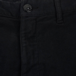 Мужские брюки Stone Island Shadow Project Cargo Stretch Moleskin Garment Dyed Black фото- 1