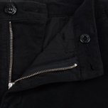 Мужские брюки Stone Island Shadow Project Cargo Stretch Moleskin Garment Dyed Black фото- 2