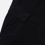 Мужские брюки Stone Island Shadow Project Cargo Stretch Moleskin Garment Dyed Black фото- 4