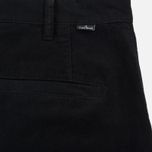 Мужские брюки Stone Island Shadow Project Cargo Stretch Moleskin Garment Dyed Black фото- 5