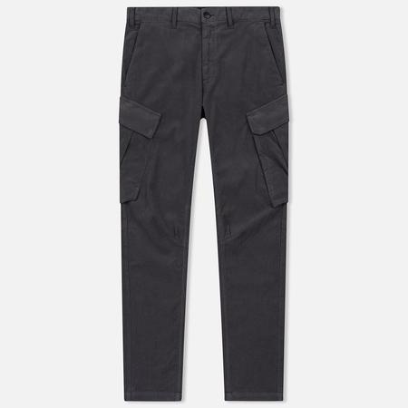 Мужские брюки Stone Island Shadow Project Cargo Stretch Moleskin Garment Dyed Dark Grey
