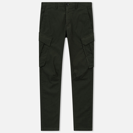 Мужские брюки Stone Island Shadow Project Cargo Stretch Moleskin Garment Dyed Military Green