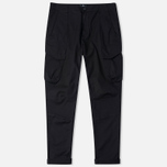 Мужские брюки Stone Island Shadow Project Cargo Twill Black фото- 0
