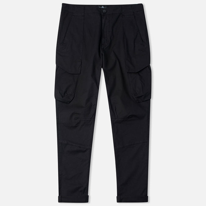 Мужские брюки Stone Island Shadow Project Cargo Twill Black
