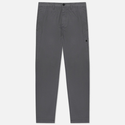 Мужские брюки Stone Island Shadow Project Chino Stretch Cotton Gabardine Blue Grey