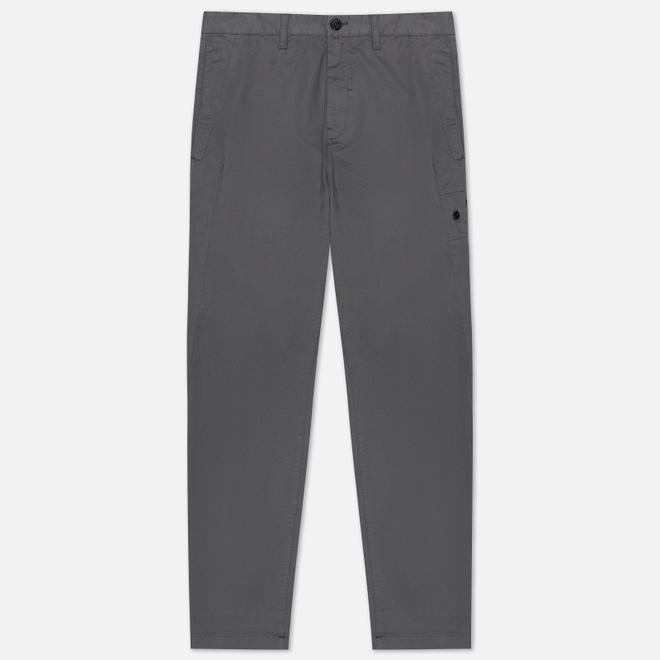 Мужские брюки Stone Island Shadow Project Chino Stretch Cotton Gabardine Blue Grey