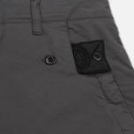 Мужские брюки Stone Island Shadow Project Comfort Poplin Cargo Anthracite фото- 5