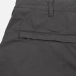 Мужские брюки Stone Island Shadow Project Comfort Poplin Cargo Anthracite фото- 6