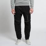Мужские брюки Stone Island Shadow Project Comfort Poplin Cargo Black фото- 6