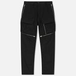 Мужские брюки Stone Island Shadow Project Comfort Poplin Cargo Black фото- 0