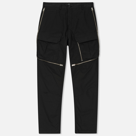 Мужские брюки Stone Island Shadow Project Comfort Poplin Cargo Black