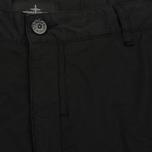 Мужские брюки Stone Island Shadow Project Comfort Poplin Cargo Black фото- 1