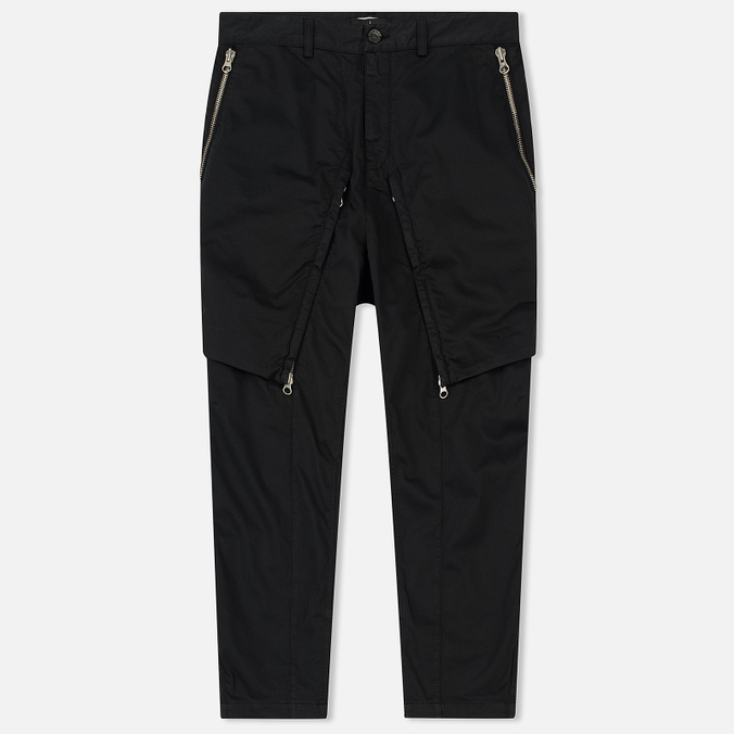 Мужские брюки Stone Island Shadow Project Convert Black