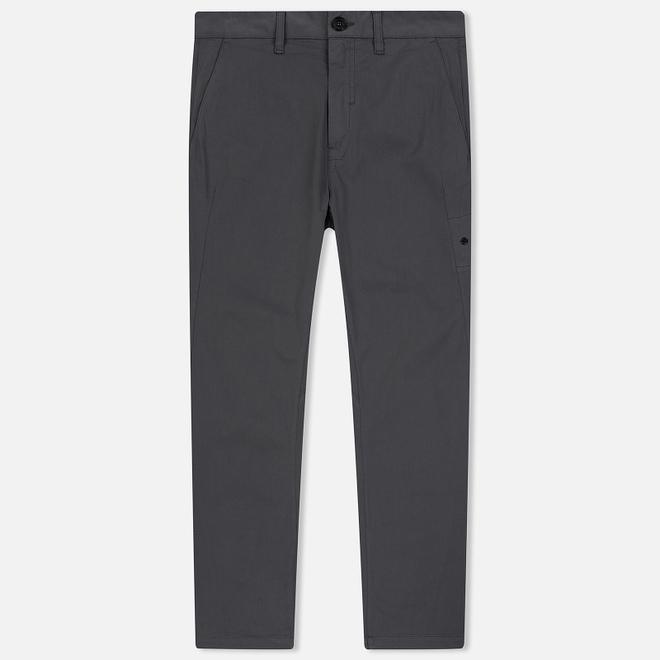 Мужские брюки Stone Island Shadow Project Gabardine Garment Dyed Grey