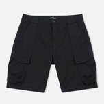 Мужские шорты Stone Island Shadow Project Cargo Black фото- 0