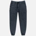 Stone Island Shadow Project Joggers Gauzed Cotton Fleece Men`s Trousers Steel Grey photo- 0