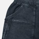 Stone Island Shadow Project Joggers Gauzed Cotton Fleece Men`s Trousers Steel Grey photo- 3