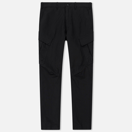 Мужские брюки Stone Island Shadow Project Tie Up Cargo Black