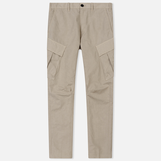 Мужские брюки Stone Island Shadow Project Tie Up Cargo Sand