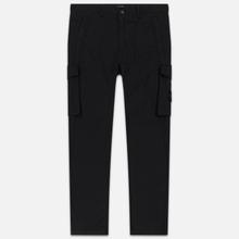 Мужские брюки Stone Island Slim Fit Brushed Stretch Twill Black фото- 0