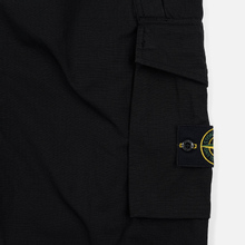 Мужские брюки Stone Island Slim Fit Brushed Stretch Twill Black фото- 4