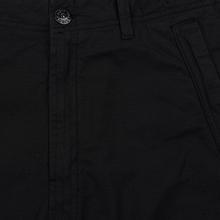 Мужские брюки Stone Island Slim Fit Brushed Stretch Twill Black фото- 2