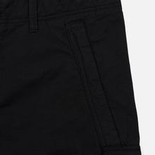 Мужские брюки Stone Island Slim Fit Brushed Stretch Twill Black фото- 3