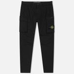 Мужские брюки Stone Island T.CO+OLD Cargo Black фото- 0