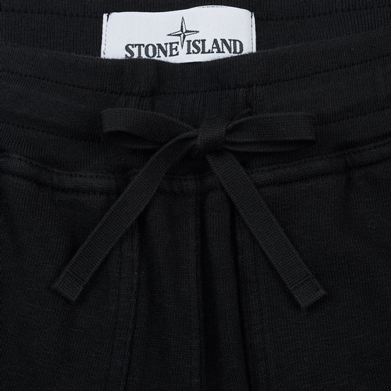 Мужские брюки Stone Island T.CO+OLD Fleece Black
