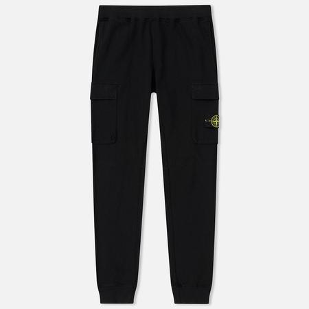 Мужские брюки Stone Island T.CO+OLD Jogging Malfile Fleece Black