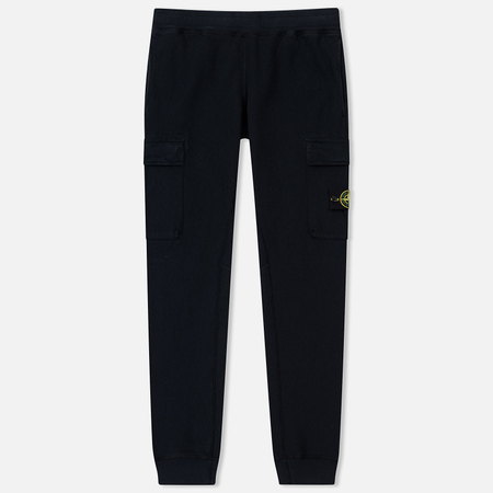 Мужские брюки Stone Island T.CO+OLD Jogging Malfile Fleece Navy Blue