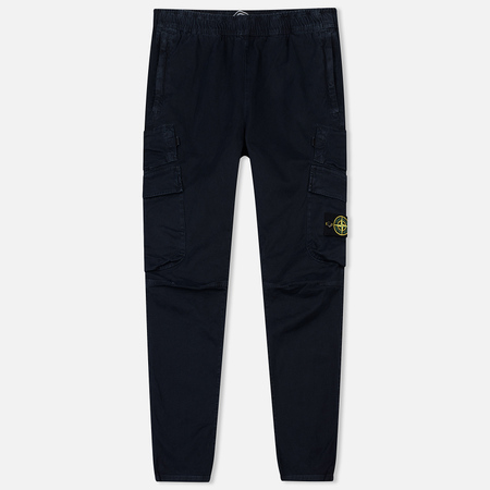 Мужские брюки Stone Island T.CO+OLD Regular Cargo Navy Blue