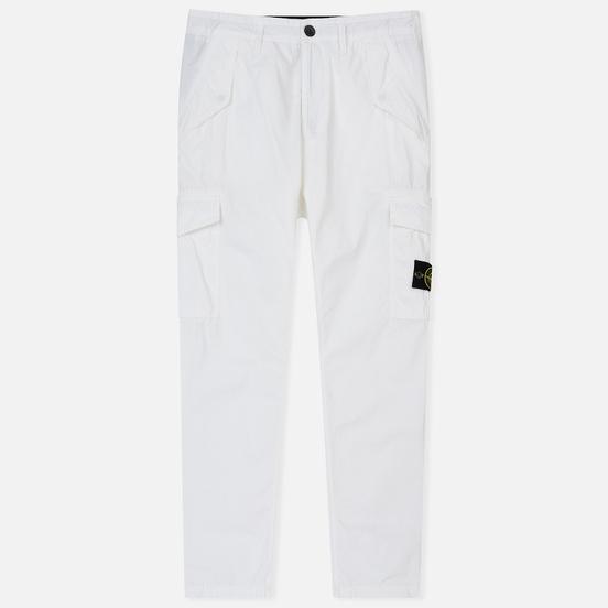 Мужские брюки Stone Island TC+OLD Cargo White
