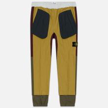 Мужские брюки Stone Island Tela Placcata Bicolore Mustard фото- 0