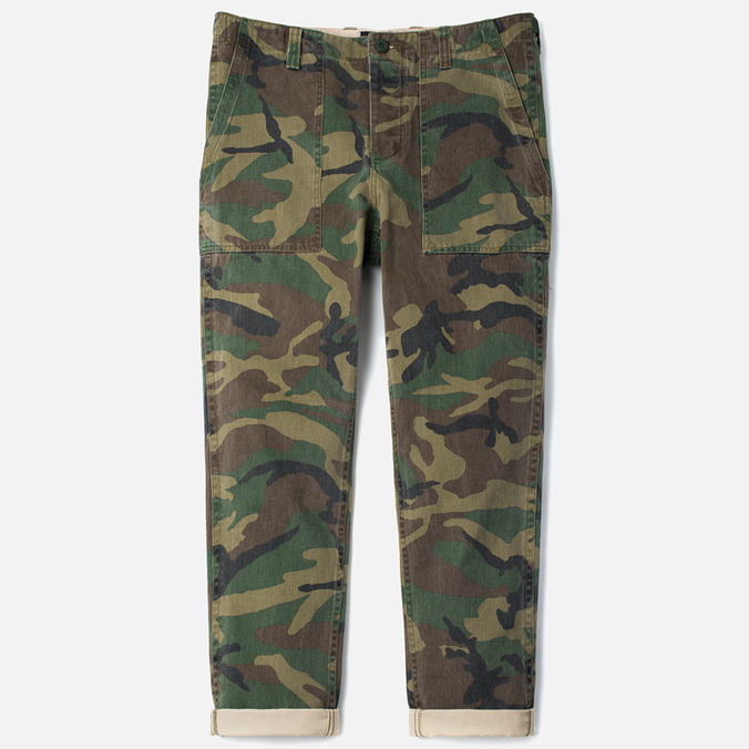 Мужские брюки Stussy Military Camo
