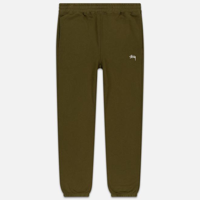 Мужские брюки Stussy Stock Fleece Olive