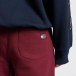 Мужские брюки Tommy Jeans Crest Logo Cabernet фото- 3