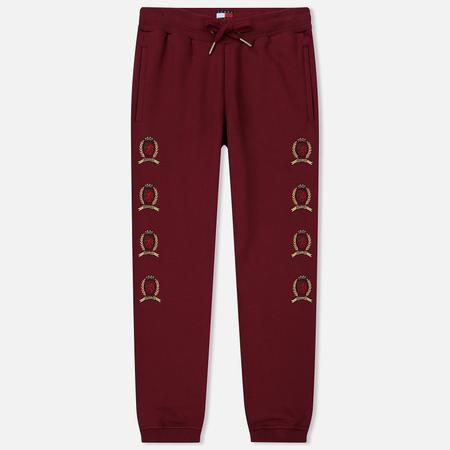 Мужские брюки Tommy Jeans Crest Logo Cabernet