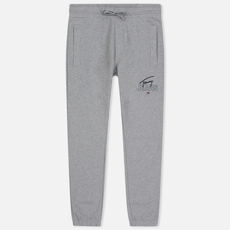 Мужские брюки Tommy Jeans Essential Logo Light Grey Heather
