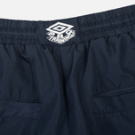 Мужские брюки Umbro Pro Training Aberdeen Track Navy/White фото- 4