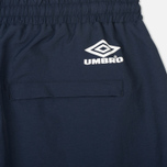 Мужские брюки Umbro Pro Training Wind Navy/White фото- 4