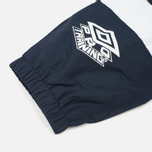 Мужские брюки Umbro Pro Training Wind Navy/White фото- 5