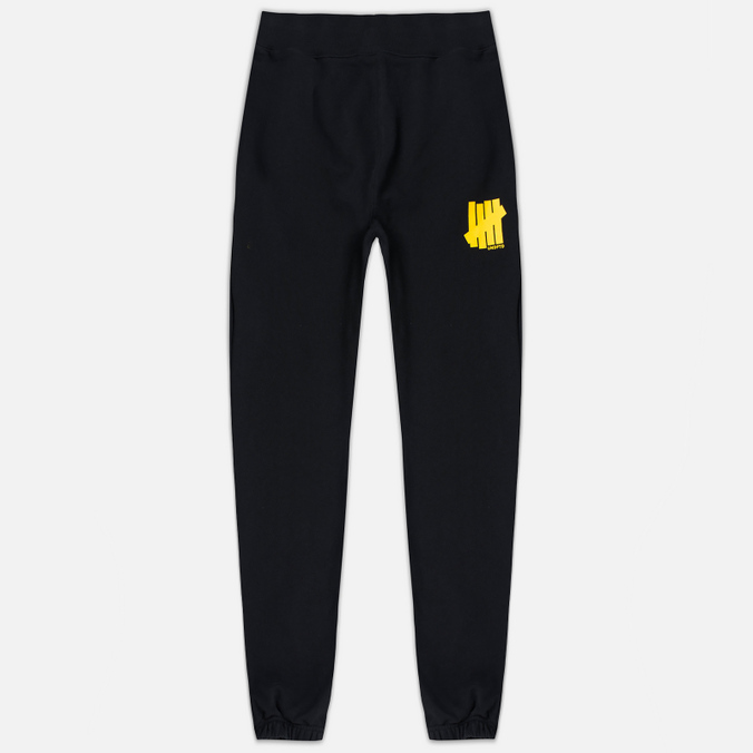 Мужские брюки Undefeated 5 Strike Black/Yellow