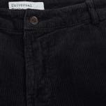 Мужские брюки Universal Works Aston Cord Midnight фото- 1