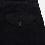 Мужские брюки Universal Works Aston Cord Midnight фото- 4
