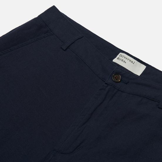 Мужские брюки Universal Works Aston Cotton Linen Navy