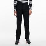Мужские брюки Universal Works Aston Flannel Black фото- 5
