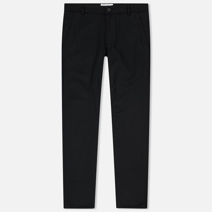 Мужские брюки Universal Works Aston Flannel Black