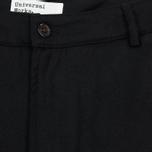 Мужские брюки Universal Works Aston Flannel Black фото- 1